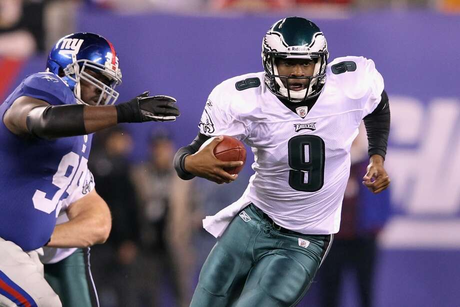 Vince Young with the Philadelphia Eagles. Photo: Al Bello, Getty Images