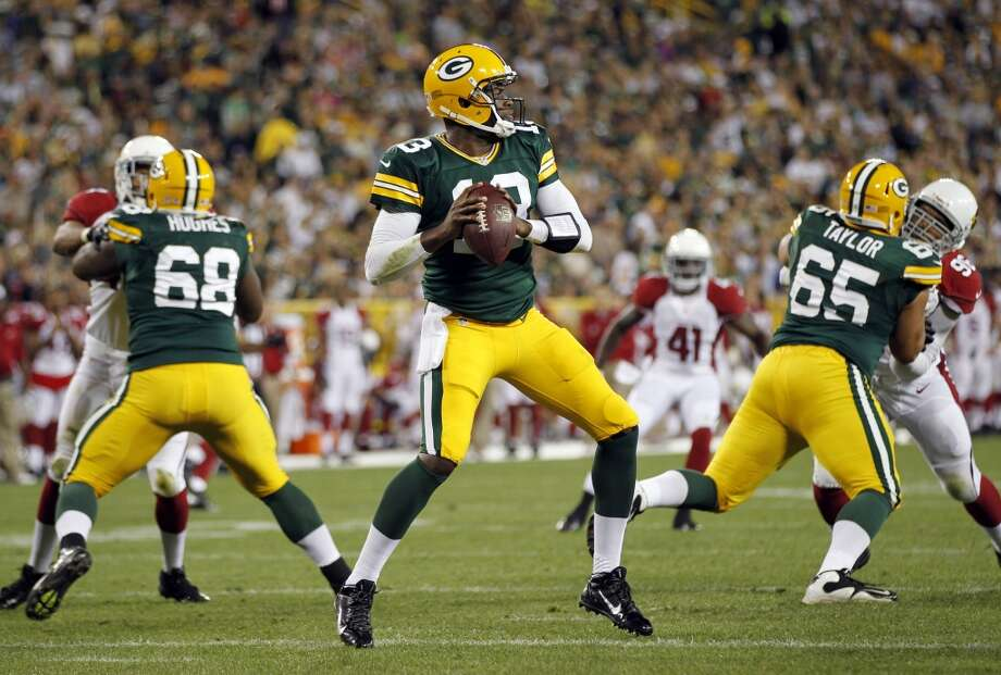 Vince Young with the Green Bay Packers. Photo: Mike Roemer, Associated Press