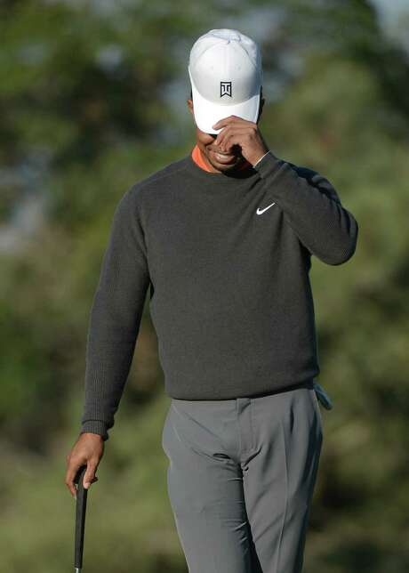 Tiger Woods, who will open defense of his Farmers Insurance Open title today at Torrey Pines, was honored Wednesday as the PGA Tour player of the year for the 11th time. Photo: Donald Miralle / Getty Images / 2014 Getty Images