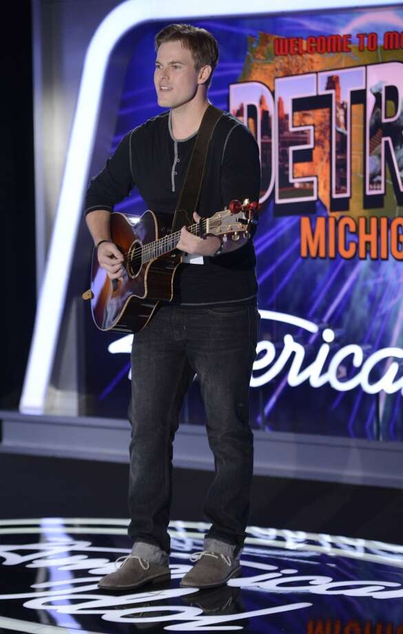 AMERICAN IDOL XIII: Detroit Auditions: Contestant Bryan Watt auditions in front of the judges on AMERICAN IDOL XIII airing Wednesday, Jan. 22 (8:00-10:00 PM ET/PT) on FOX. CR: Michael Becker / FOX. Copyright 2014 FOX BROADCASTING.