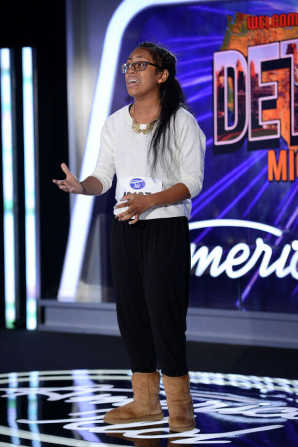 AMERICAN IDOL XIII: Detroit Auditions: Contestant Malaya Watson auditions in front of the judges on AMERICAN IDOL XIII airing Wednesday, Jan. 22 (8:00-10:00 PM ET/PT) on FOX. CR: Michael Becker / FOX. Copyright 2014 FOX BROADCASTING.