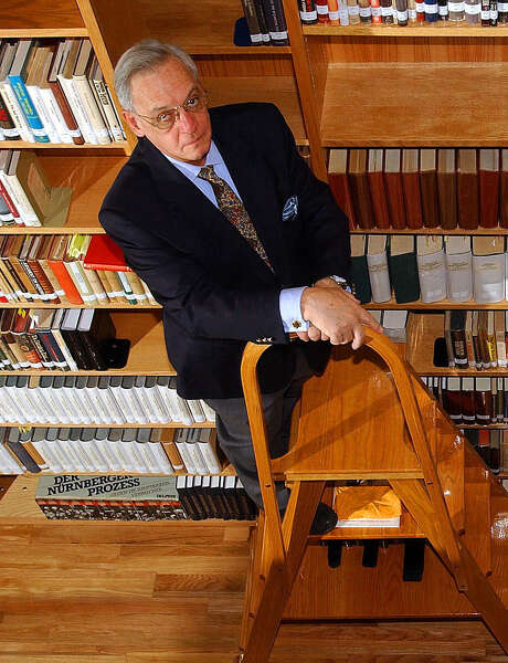 Harry Mazal amassed some 20,000 books and 100,000 documents for his personal Holocaust library. He passed away in 2011. Photo: William Luther / Express-News File Photo