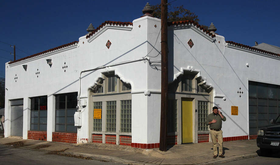A rezoning sought by design firm French & Michigan for its building on Michigan Avenue would allow for proposed commercial uses, including a coffee bar and a plant nursery. Photo: San Antonio Express-News File Photo / ©San Antonio Express-News