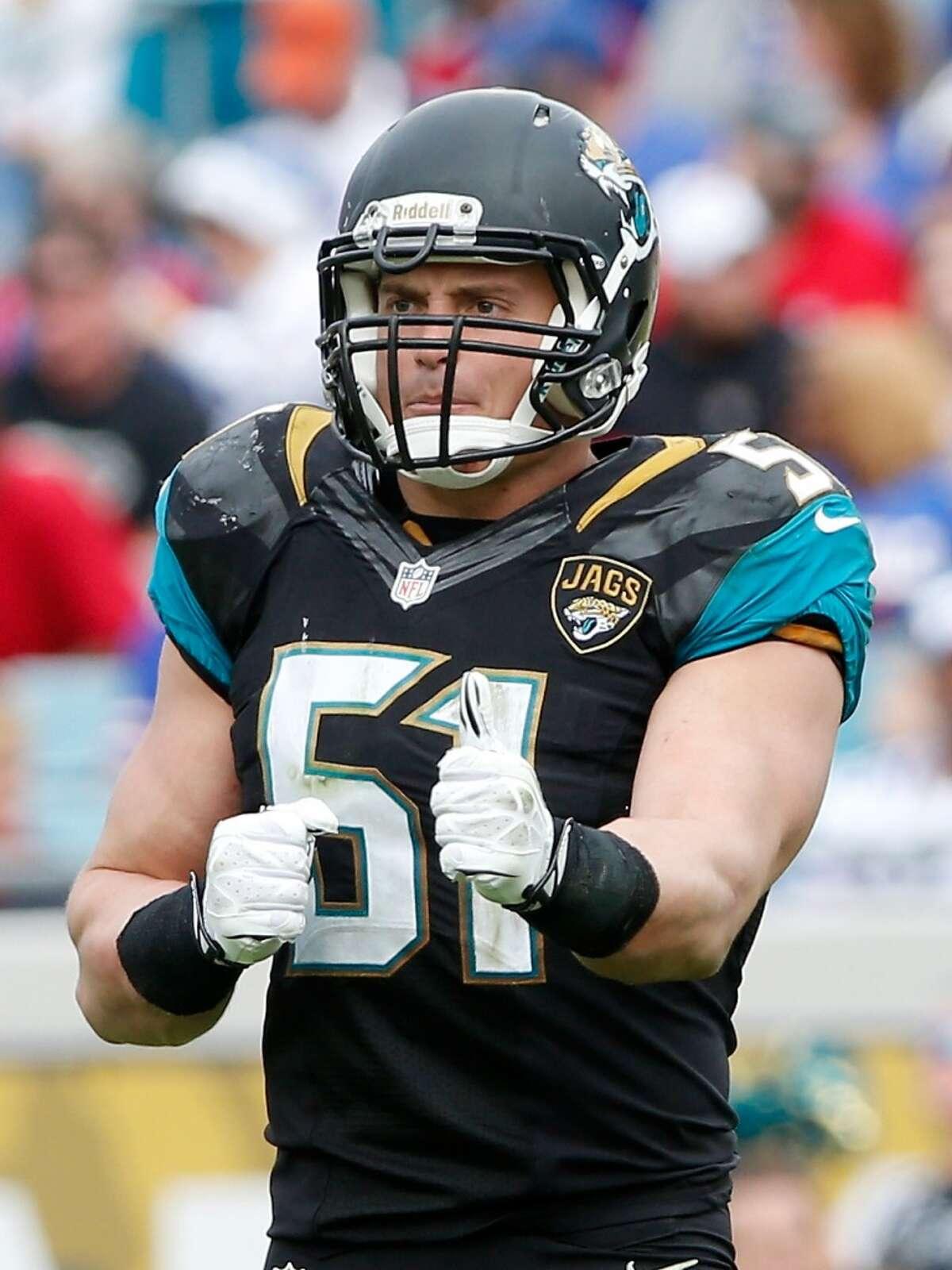 Inside linebacker - Paul Posluszny, Jacksonville Jaguars