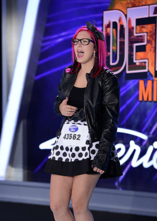 AMERICAN IDOL XIII: Detroit Auditions: Contestant Paris Primeau auditions in front of the judges on AMERICAN IDOL XIII airing Wednesday, Jan. 22 (8:00-10:00 PM ET/PT) on FOX. CR: Michael Becker / FOX. Copyright 2014 FOX BROADCASTING.