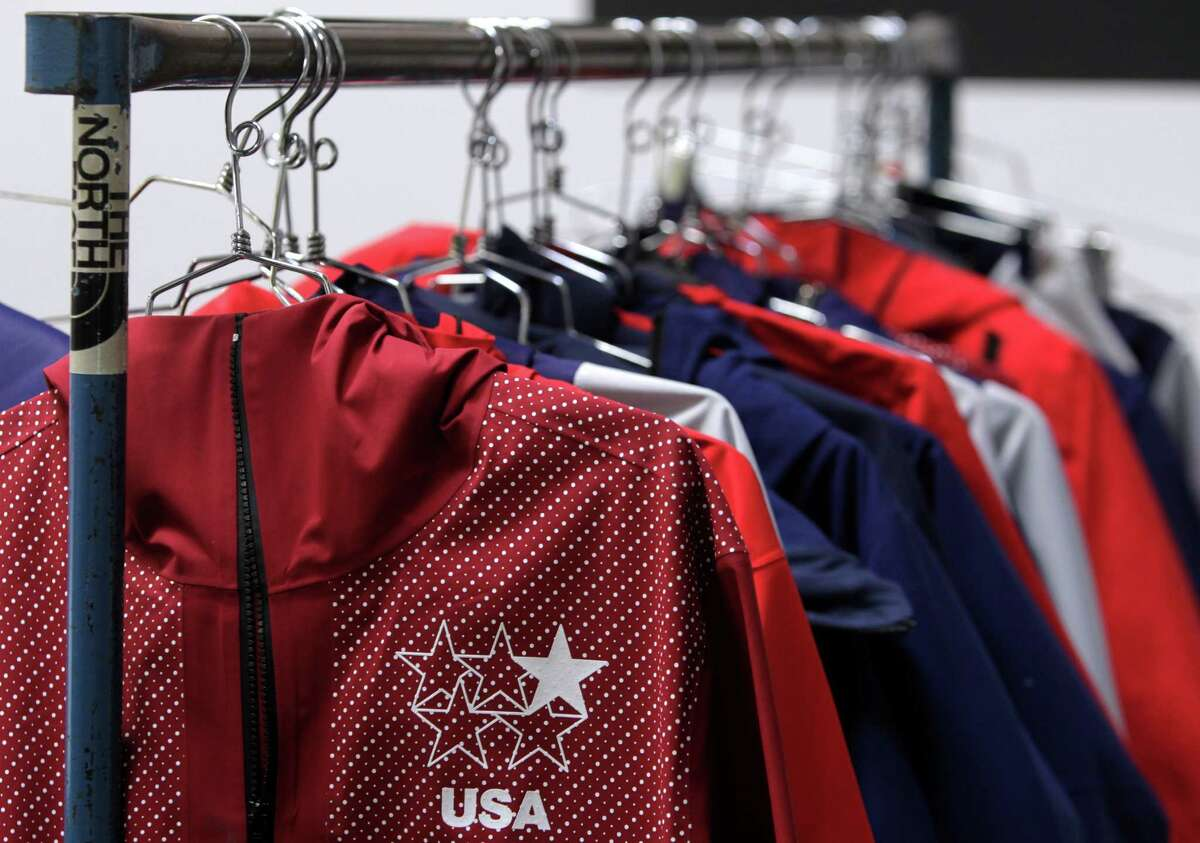 Feb. 7: The Sochi Olympics produces horrendous ice-skating outfits, but also patriotic Ralph Lauren uniforms for the USA, North Face togs on our freeskiing team and Foster City's Loudmouth Golf suits for Norway's curling team.