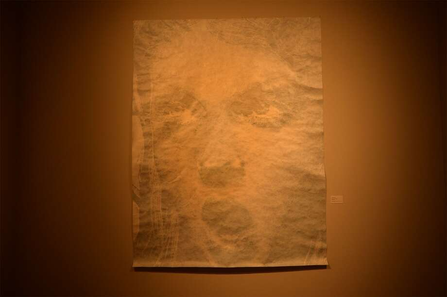 "Laura Lark, ""Top Depart! (Powder),"" 2004. Ink on Tyvek. Photo: Guiseppe Barranco"