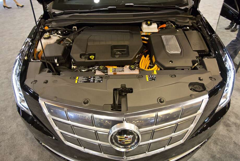 The engine of  the fully electric Cadillac ELR Photo: Thomas B. Shea, Houston Chroncile