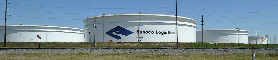 The Keystone pipeline from Cushing Oklahoma to Nederland Texas will eventually bring crude to the Sunoco Logistics plant on Highway 347 in Nederland.     Dave Ryan/The Enterprise Photo: Dave Ryan