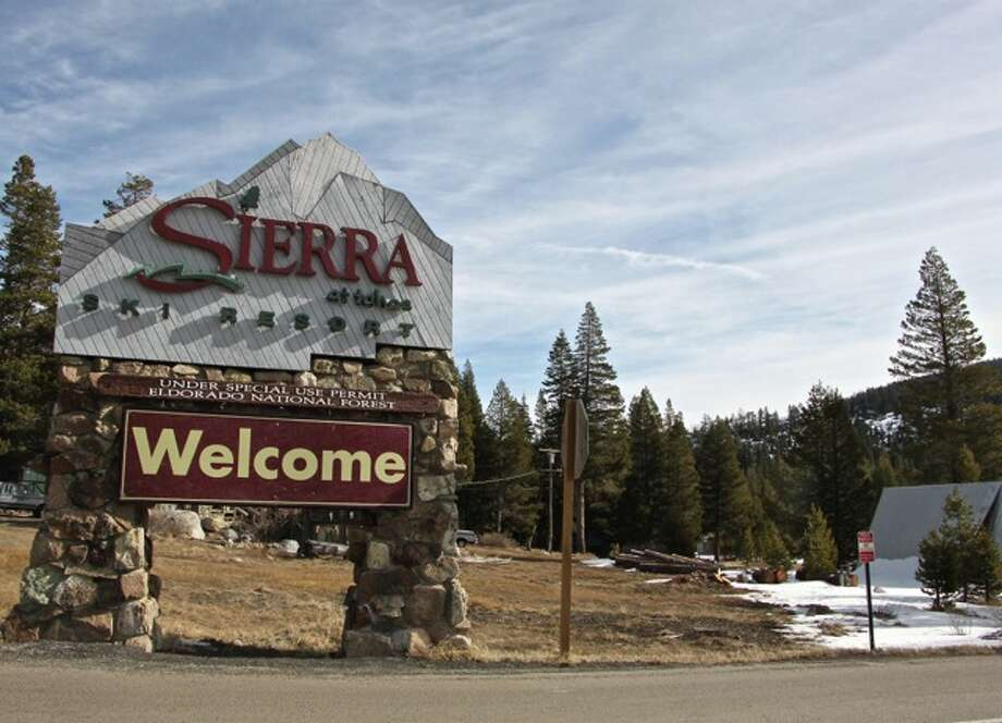 Sierra-at-Tahoe sign of the times by Effin Older
