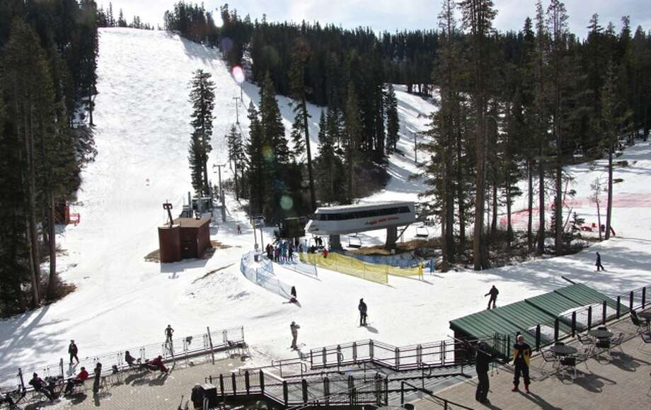 Sierra-at-Tahoe's snowy shirtfront by Effin Older