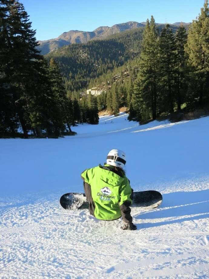 Diamond Peak rider by jules