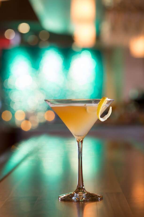 The classic Sidecar mixed cognac, Cointreau and lemon juice. (Photo: Eddie V's)