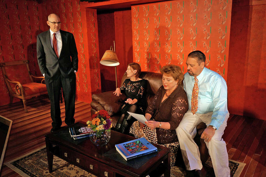 """God of Carnage,"" the Tony Award-winning comedy by Yasmina Reza, will be performed Jan. 31 to Feb. 16 at the MTC MainStage Studio Theatre, 246 Post Road East, Westport. Photo: Picasa, Contributed / New Canaan News Contributed"