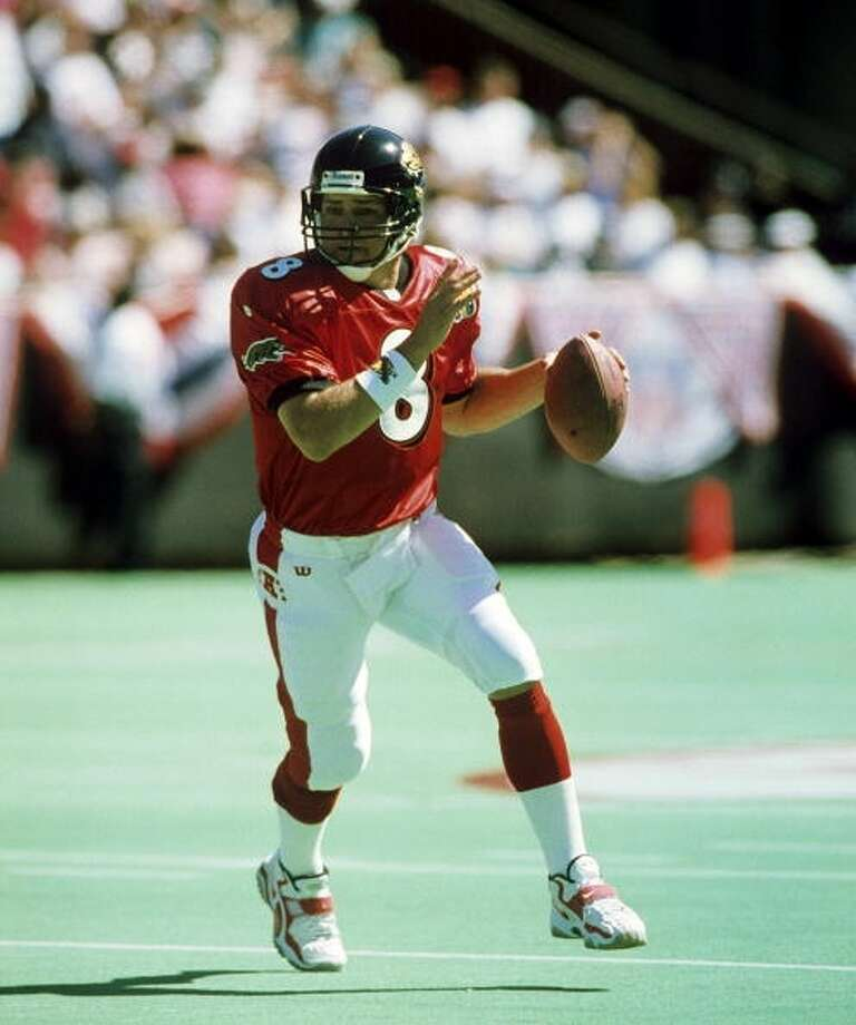 1997 — Mark Brunell, QB, Jacksonville Jaguars  Score: AFC 26, NFC 23, OT Photo: Martin Morrow, Getty Images