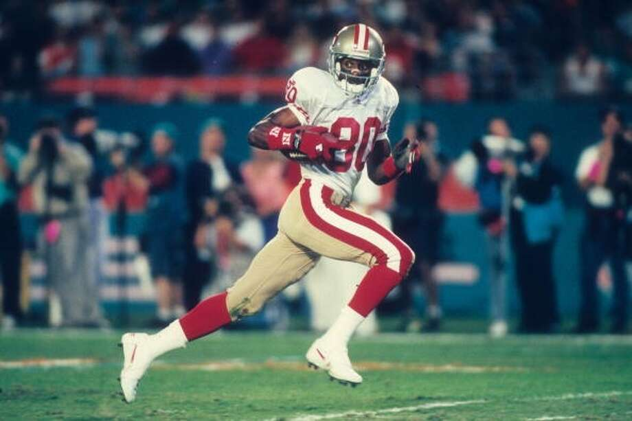 1996 — Jerry Rice, WR, San Francisco 49ers  Score: NFC 20, AFC 13 Photo: Joseph Patronite, Getty Images