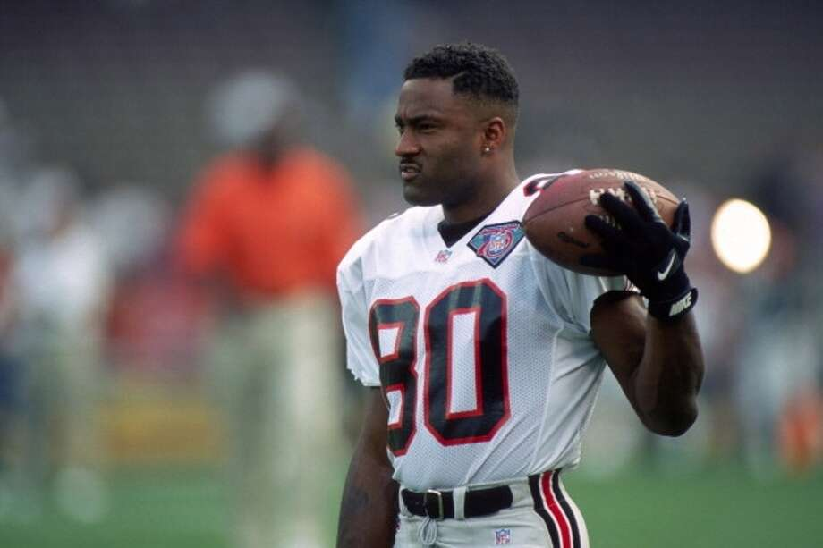 1994 — Andre Rison, WR, Atlanta Falcons  Score: NFC 17, AFC 3 Photo: George Gojkovich, Getty Images