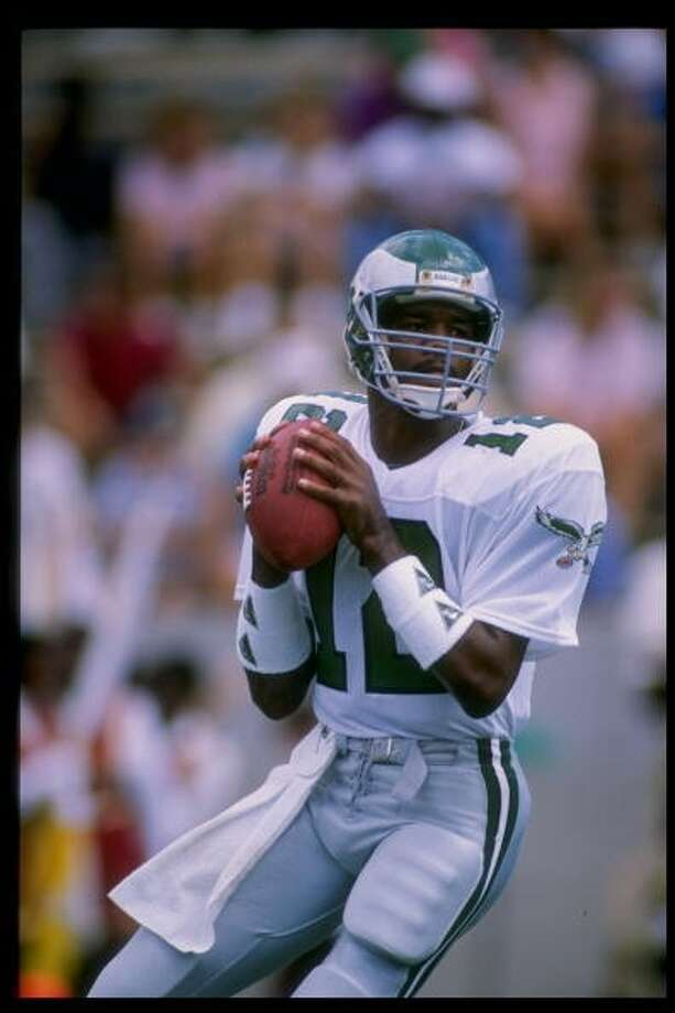 1989 — Randall Cunningham, QB, Philadelphia Eagles  Score: NFC 34, AFC 3 Photo: Allen Steele, Getty Images