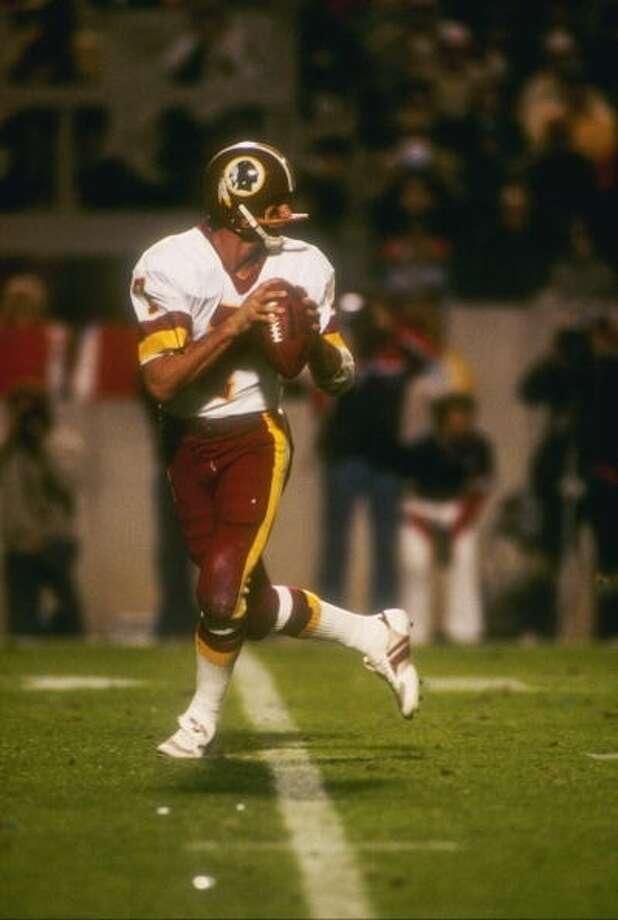 1984 — Jose Theismann, QB, Washington Redskins  Score: NFC 45, AFC 3 Photo: Getty Images