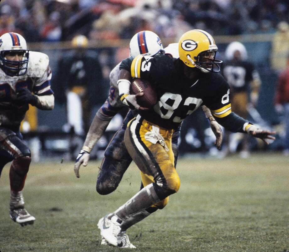 1983 — John Jefferson, WR, Green Bay Packers  Score: NFC 20, AFC 19 Photo: Ronald C. Modra/Sports Imagery, Getty Images