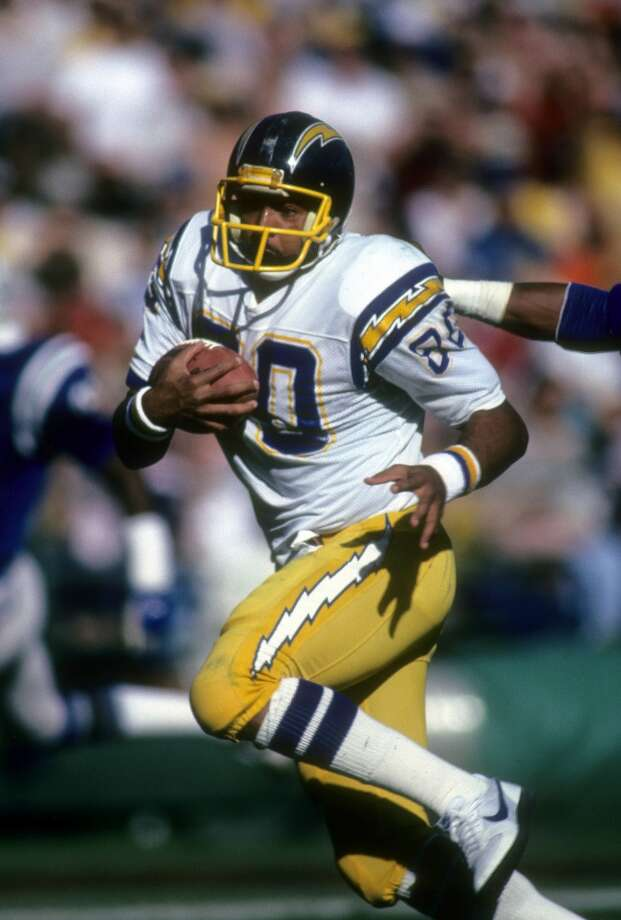 1982 — Kellen Winslow, TE, San Diego Chargers  Score: AFC 16, NFC 13 Photo: Focus On Sport, Getty Images