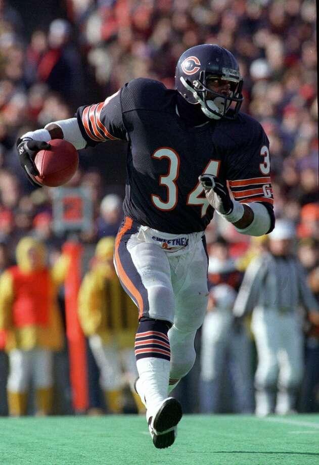 1978 — Walter Payton, RB, Chicago Bears  Score:NFC 14, AFC 13 Photo: JOHN SWART, Associated Press