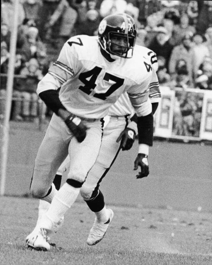 1977 — Mel Blount, DB, Pittsburgh Steelers  Score:AFC 24, NFC 14 Photo: B Bennett, Getty Images