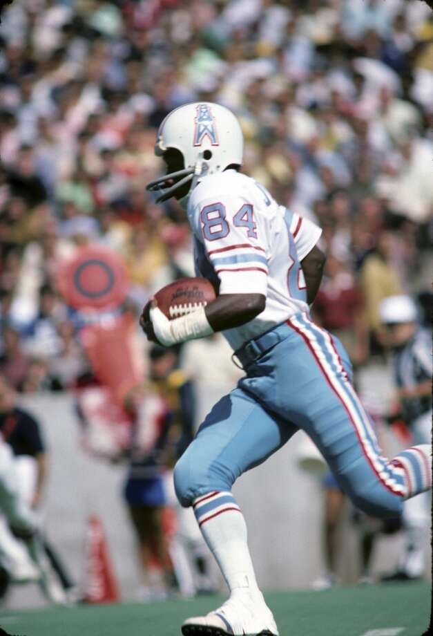 "1976 — Billy ""White Shoes"" Johnson, WR, Houston Oilers  Score:AFC 23, NFC 20 Photo: Diamond Images, Diamond Images/Getty Images"