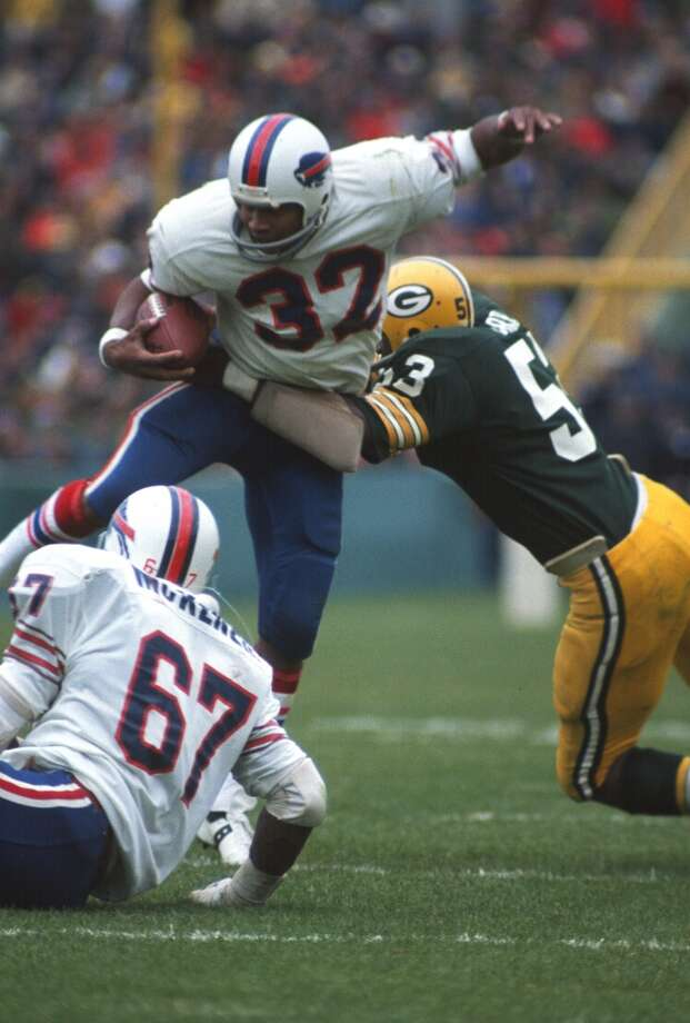 1971 — Fred Carr, LB, Green Bay Packers (lineman)  Score:NFC 27, AFC 6 Photo: Focus On Sport, Getty Images