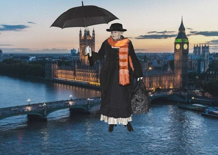 """Mary Poppins""  Erna Schenk, 78 Photo: Contilla Retirement Group"