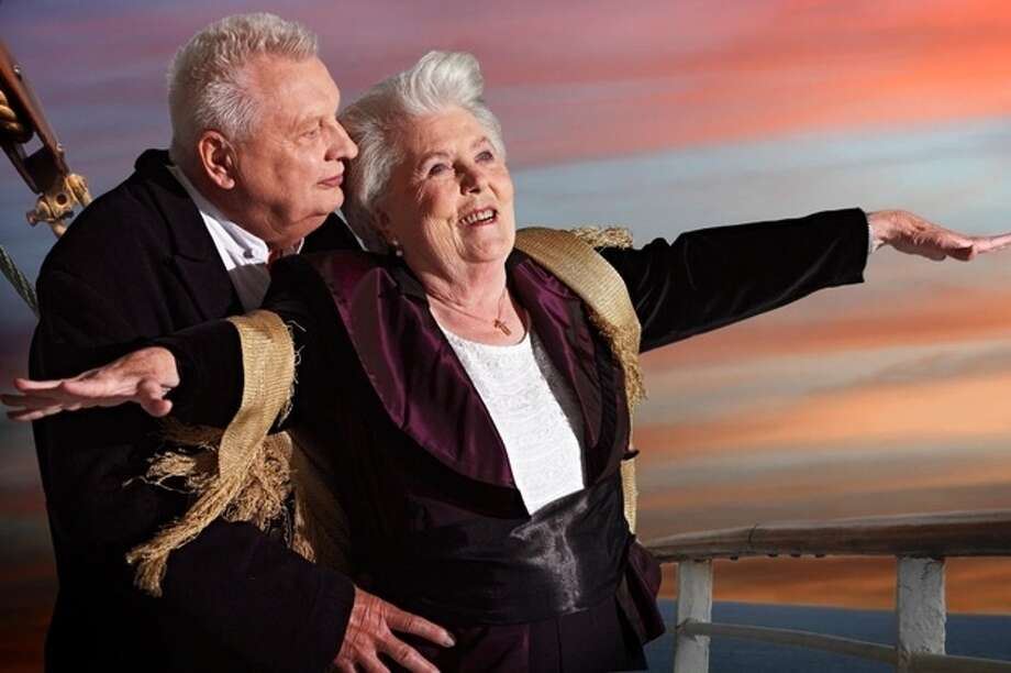 """Titanic"" Erna Rütt, 86, and Alfred Kelbch, 81 Photo: Contilla Retirement Group"
