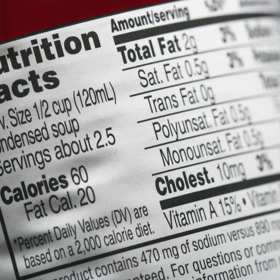 "The FDA may consider removing the ""Calories from Fat"" item from food labels."