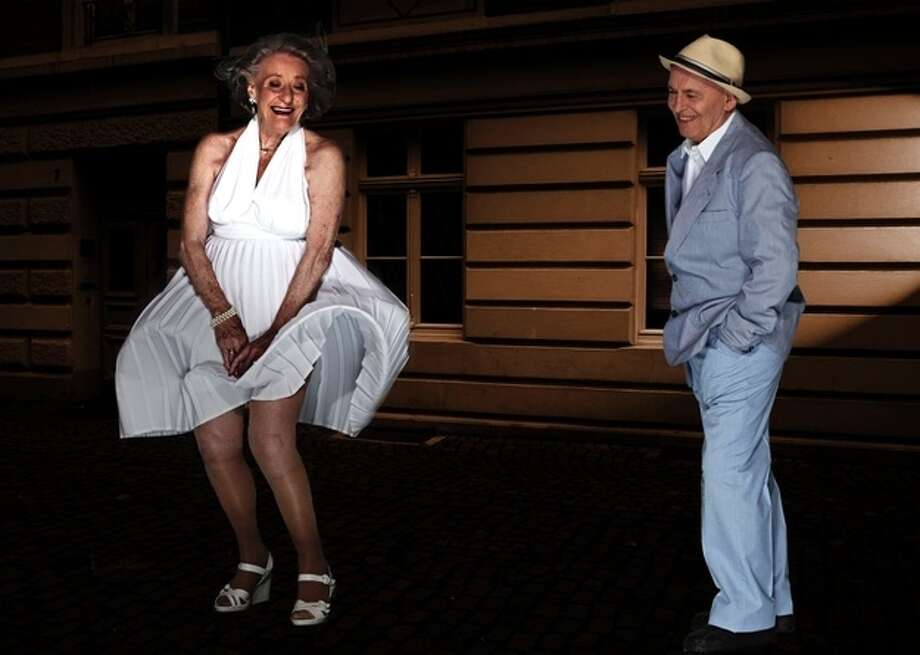 """The Seven-Year Itch"" Ingeborg Giolbass, 84, and Erich Endlein, 88 Photo: Contilla Retirement Group"