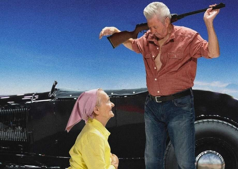 """Giants""Joanna Trachenberg, 81, and Horst Krischat, 78 Photo: Contilla Retirement Group"