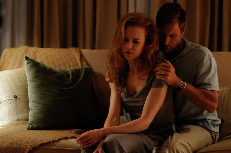 "Nicole Kidman (""Becca,"" left) and Aaron Eckhart (""Howie,"" right) star in Lionsgate Home Entertainment's Rabbit Hole. Photo credit: JoJo Whilden/Lionsgate Entertainment"