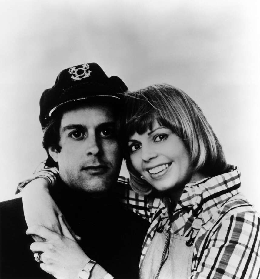 Posed group portrait of 'Captain' Daryl Dragon and wife Toni Tennille. Photo: RB, Redferns