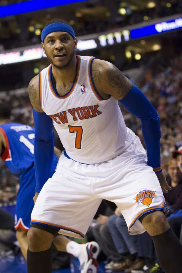 Carmelo Anthony  New York Knicks forward Photo: Chris Szagola, Associated Press