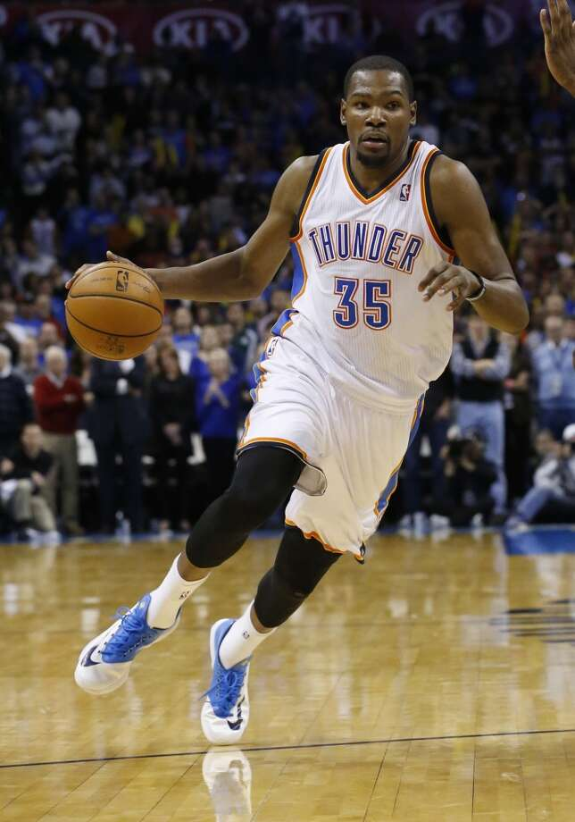 Kevin Durant  Oklahoma City Thunder forward Photo: Sue Ogrocki, Associated Press
