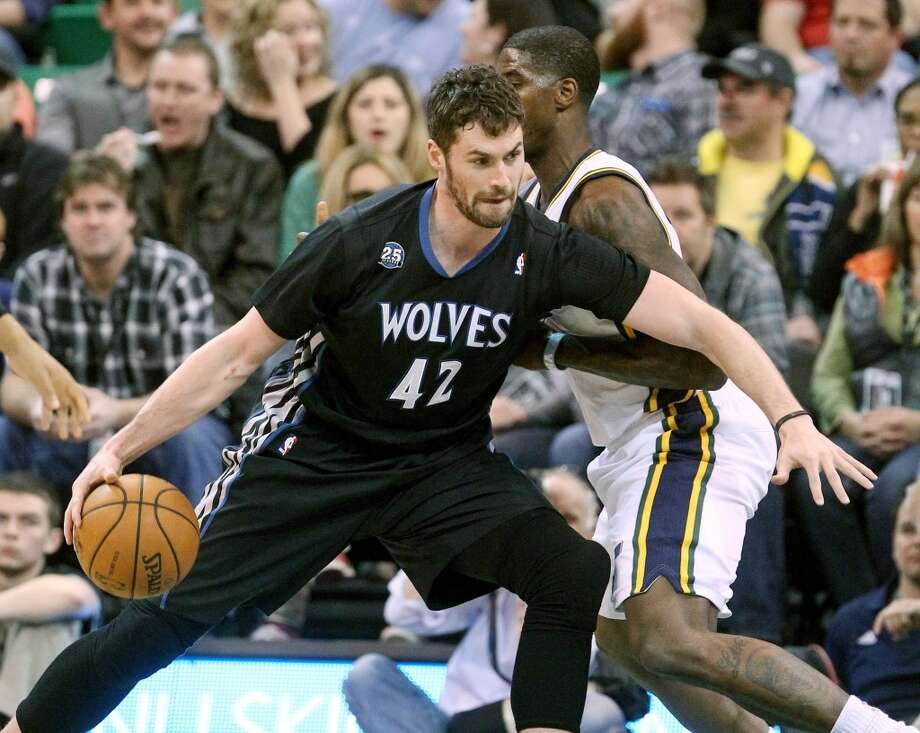 Kevin Love  Minnesota Timberwolves forward Photo: Rick Bowmer, Associated Press