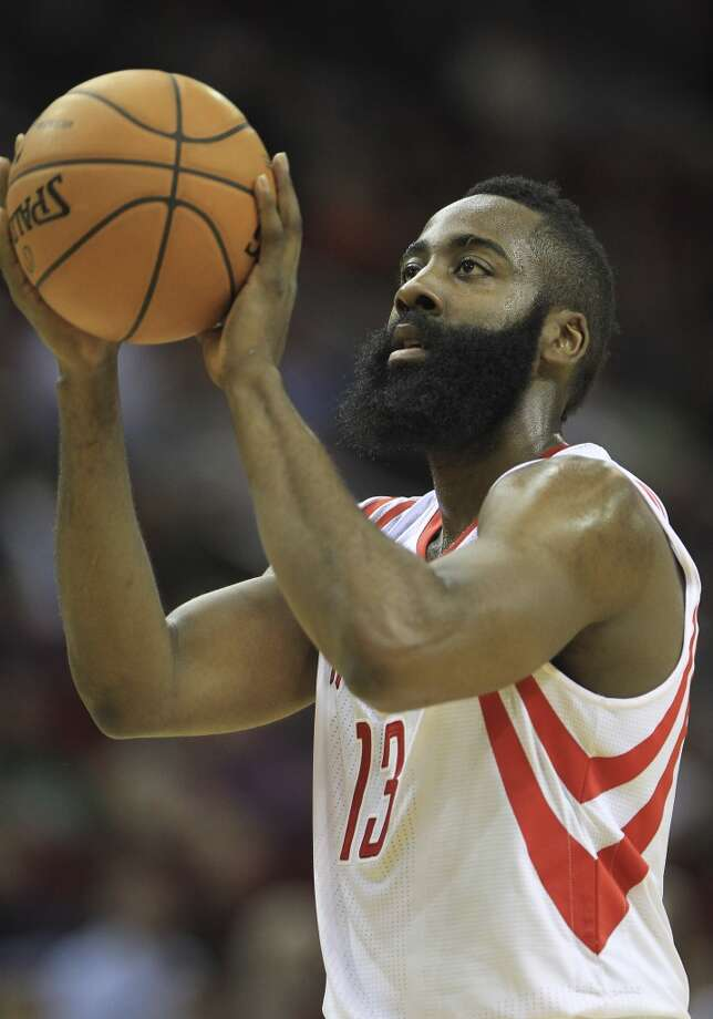 James Harden  Rockets guard Photo: Karen Warren, Houston Chronicle