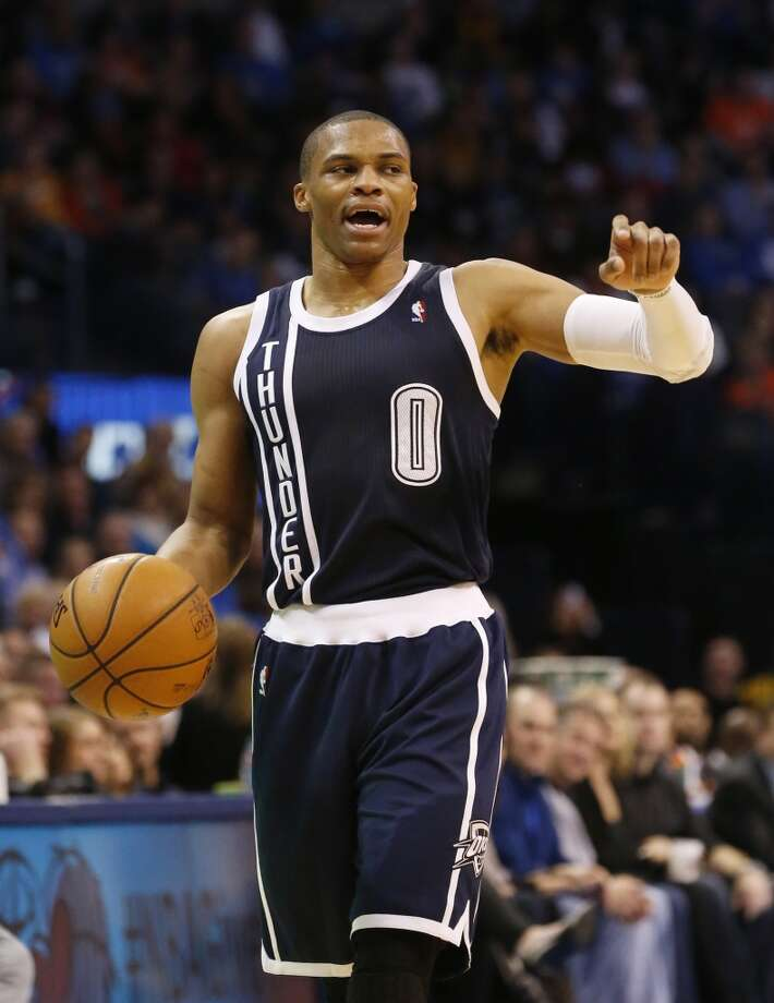 Russell Westbrook  Oklahoma City Thunder guard Photo: Sue Ogrocki, Associated Press