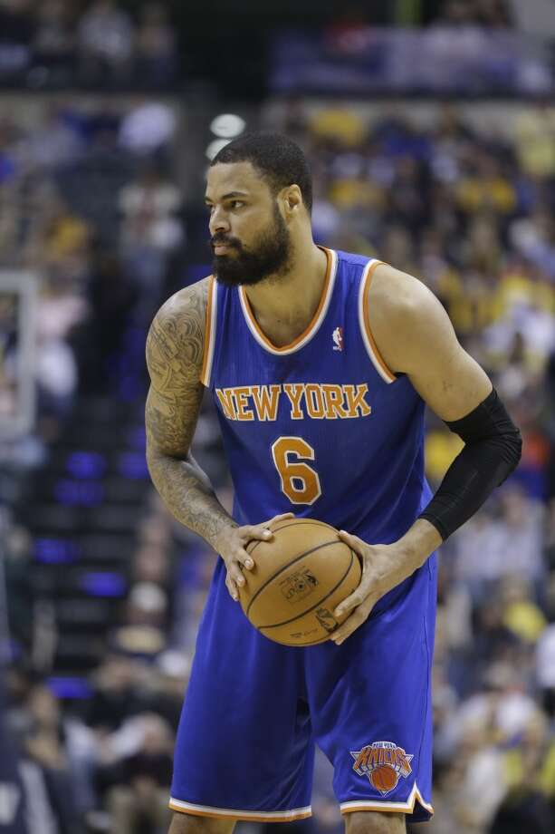 Tyson Chandler  New York Knicks center Photo: Michael Conroy, Associated Press