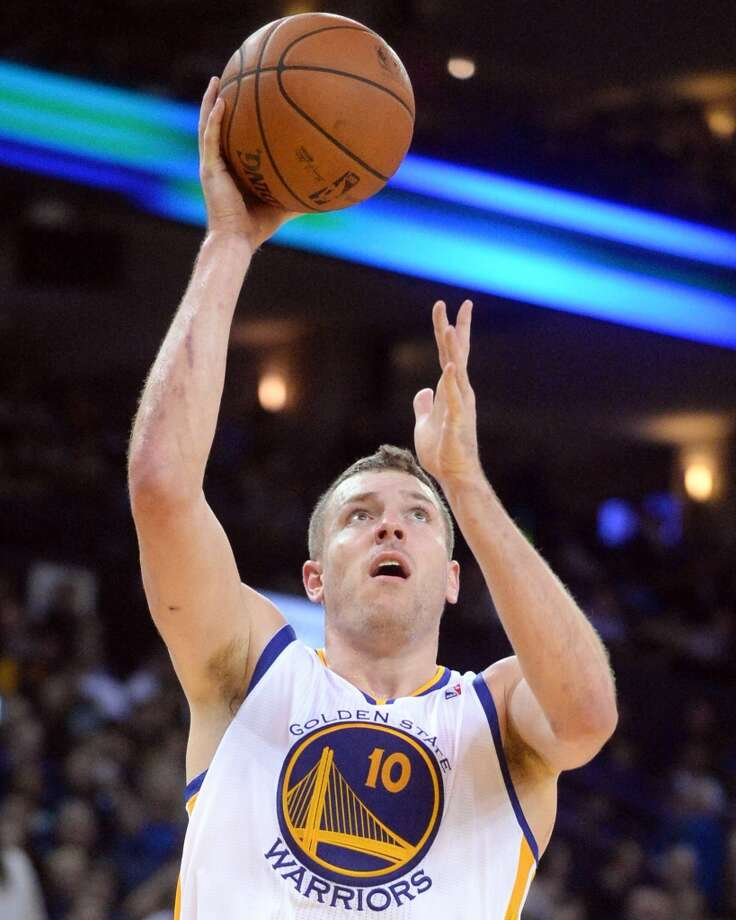 David Lee  Golden State Warriors forward Photo: Doug Duran, MCT