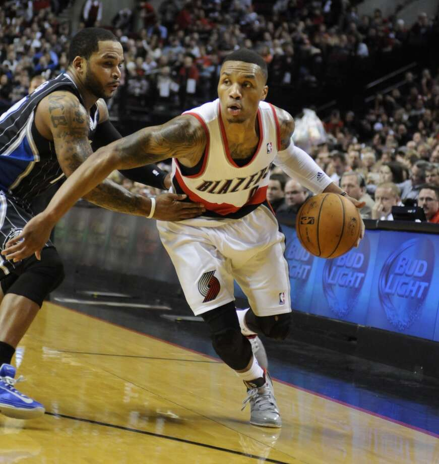 Damian Lillard  Portland Trail Blazers point guard Photo: Greg Wahl Stephens, Associated Press