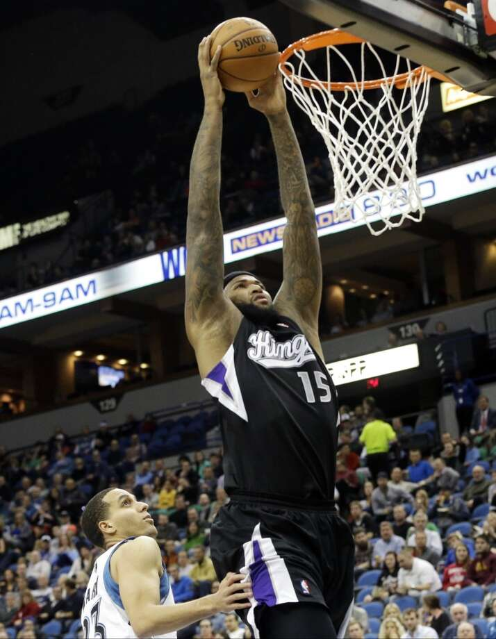 DeMarcus Cousins  Sacramento Kings center Photo: Jim Mone, Associated Press