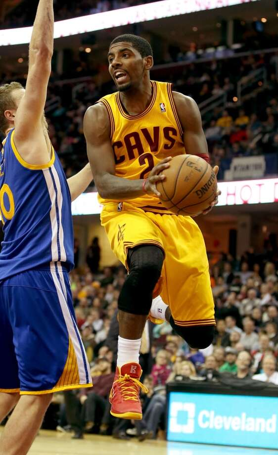 Kyrie Irving  Cleveland Cavaliers point guard Photo: Mike Lawrie, Getty Images
