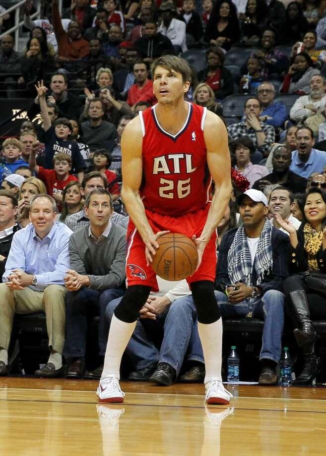 Kyle Korver  Atlanta Hawks guard/forward Photo: Todd Kirkland, Associated Press