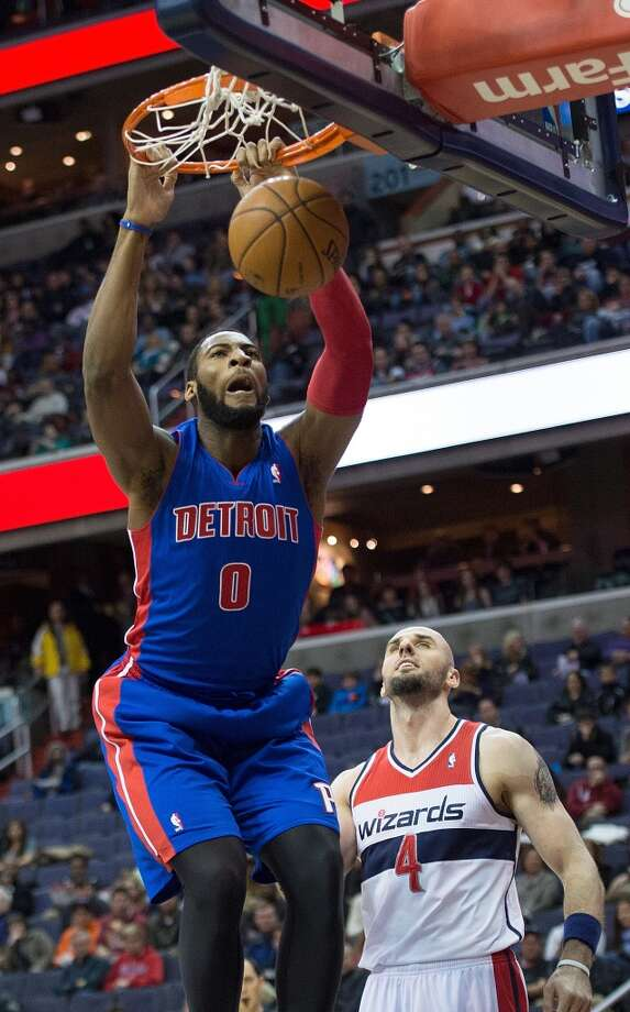 Andre Drummond  Detroit Pistons forward/center Photo: Harry E. Walker, MCT