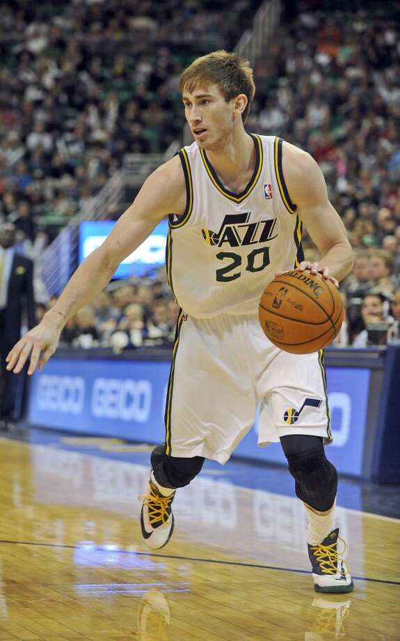 Gordon Hayward  Utah Jazz forward Photo: Gene Sweeney Jr, Associated Press