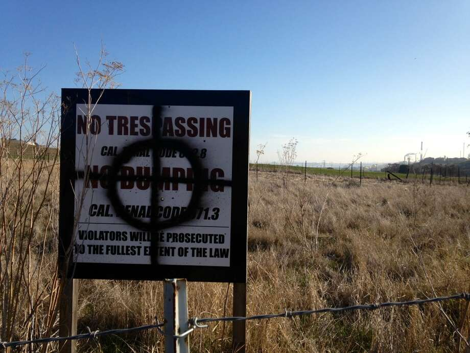 No one has bothered to replace this sign because they wouldn't DARE. Photo: Beth Spotswood